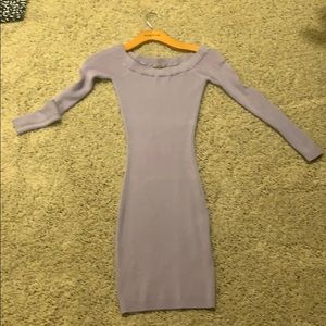 Guess purple sweater dress